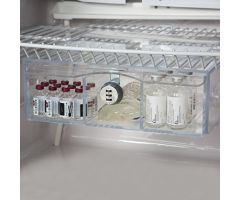 Non-Tilting Refrigerator Box with Dial Combination Lock