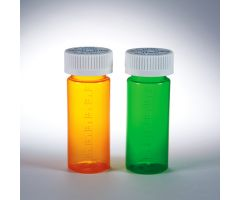 Dual Purpose Vials with Child-Resistant Caps, 16 dram/60mL - Green