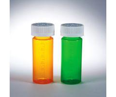 Dual Purpose Vials with Child-Resistant Caps, 16 dram/60mL - Amber