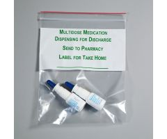 Multidose Medication Dispensing for Discharge Bags, 8 x 10