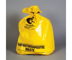 Chemotherapy Waste Bags, 12-16 Gal, 25 x 34