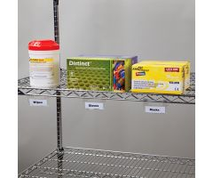 Wire Shelf Tag Holders