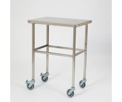 "Stainless Steel Mobile Table  26""W"