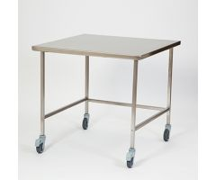 "Stainless Steel Mobile Table  36""W"