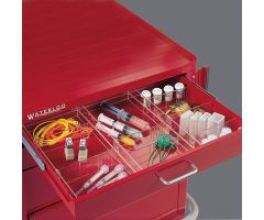 Drawer Divider System for Shallow Crash Cart Drawers