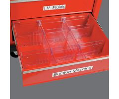 HCL Drawer Divider System for Deep Crash Cart Drawers