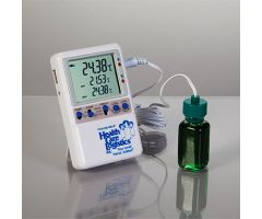 Memory-Loc Datalogging Thermometer w/ probe bottle