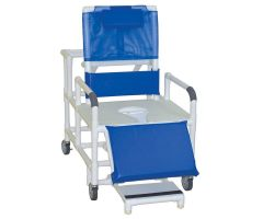 "Bariatric reclining shower chair 26"" internal width"