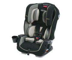 Milestone All-in-One Car Seat featuring Safety Surround Side Impact Protection