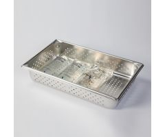 Perforated Stainless Steel IV Tray