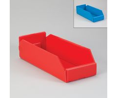 Corrugated Plastic Shelf Caddies - Blue, 19824