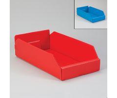 Corrugated Plastic Shelf Caddies - Blue, 19825