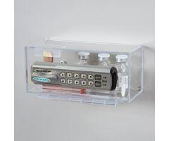 Locking Wall Box w/ Keyless Entry Digital Lock w/ Audit Trail, Small