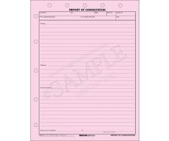 Report of Consultation Form 19