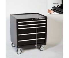 Multi-Purpose 5-Drawer Cart