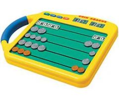 Coin Abacus with Adapter