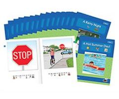 Environmental Print Level B Books (Set of 16)