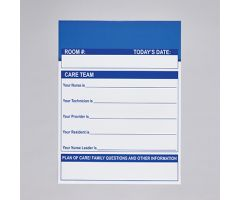 Care Team Communication Board Magnetic