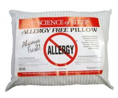 "Allergy-Free Pillow King 15.5"" x 31"""