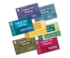 Language Arts Warm-Ups: COMBO (All 7 Books)