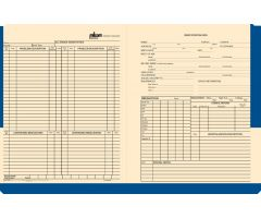 Milcom Medical Record Jacket 2453