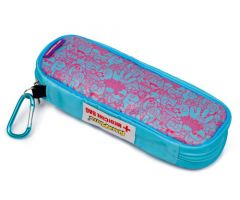 AllerMates EpiPen and Allergy Medicine Carry Case Pink/Blue