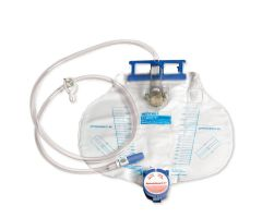 KENDALL CURITY URINARY DRAINAGE BAGS WITH ANTI RE