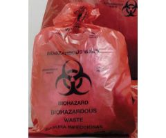 Infectious Waste Bag Ultra-Tuff Red High Performance Resin 40 X 46 Inch