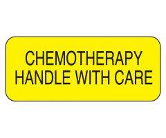 Chemotherapy Handle with Care Labels