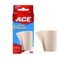 "3M ACE Elastic Bandage, with Hook Closure, 4""Tan"