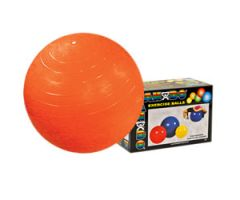 "CanDo Inflatable Exercise Ball - Orange - 22"" (55 cm)"