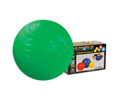 "CanDo Inflatable Exercise Ball - Green - 26"" (65 cm)"
