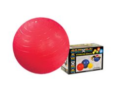 "CanDo Inflatable Exercise Ball - Red - 30"" (75 cm)"