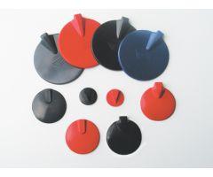 """Carbonflex Electrodes- insulated 1.5"""" x 2"""", Dark Grey"""