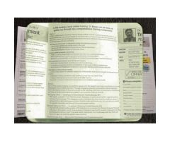 """14"""" x 12"""" Clear Page Magnifier"""