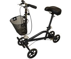 Roscoe Gemini Seated Scooter (Black Powder Coat)