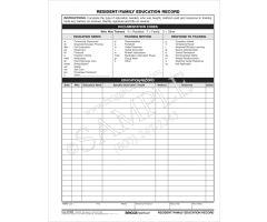 Resident Family Education 3076HF