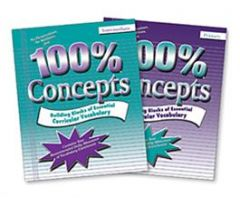 100% Concepts: 2-Book Set