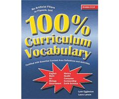 100% Curriculum Vocabulary Grades 6-12