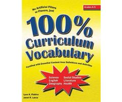 100% Curriculum Vocabulary Grades K-5
