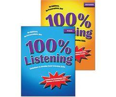 100% Listening 2-Book Set