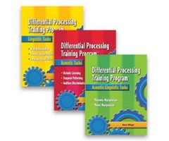 Differential Processing Training Program: 3-Book Set