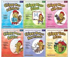 Early Articulation Books for Cleft Palate Speech: 6-Book Set