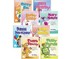 Early Phonological Awareness Stories: 8-Book Set