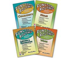 Functional Routines for Adolescents & Adults: 4-Book Set