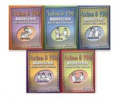 Autism & PDD Adolescent Social Skills Lessons: 5-Book Set