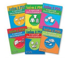 Autism & PDD Concept Development: 6-Book Set