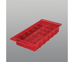 Clear Divider Set for HCL One-Third Size Colored Crash Cart Boxes