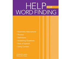 Handbook of Exercises for Language Processing HELP  for Word Finding