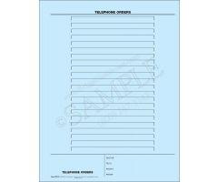 Telephone Order Mount Sheet